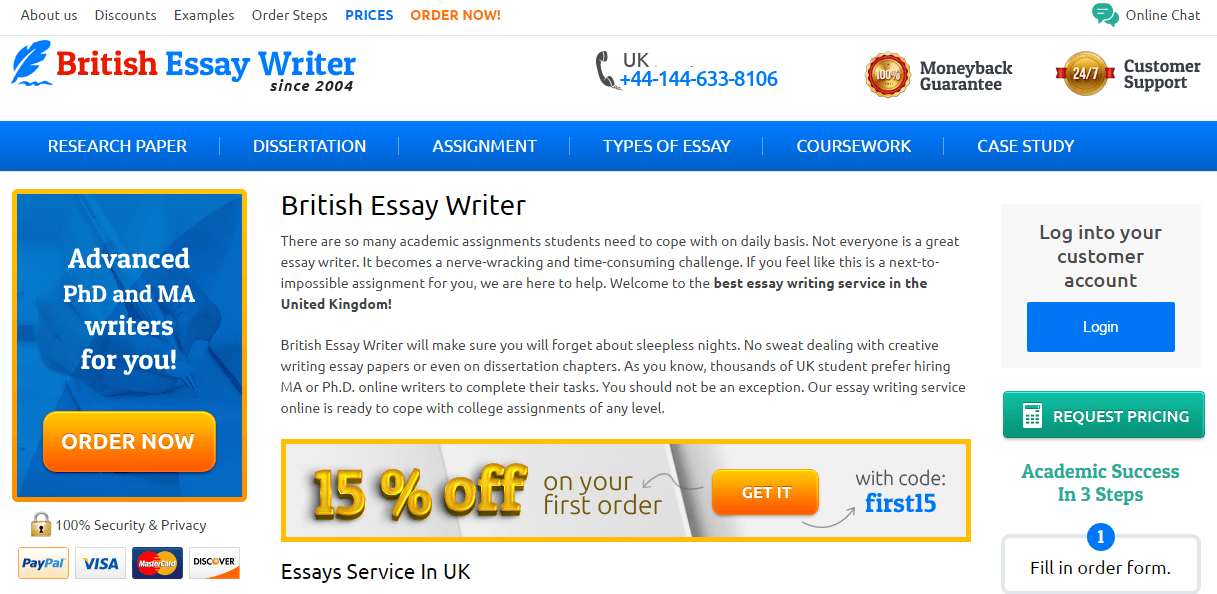 uk essay writers reviews