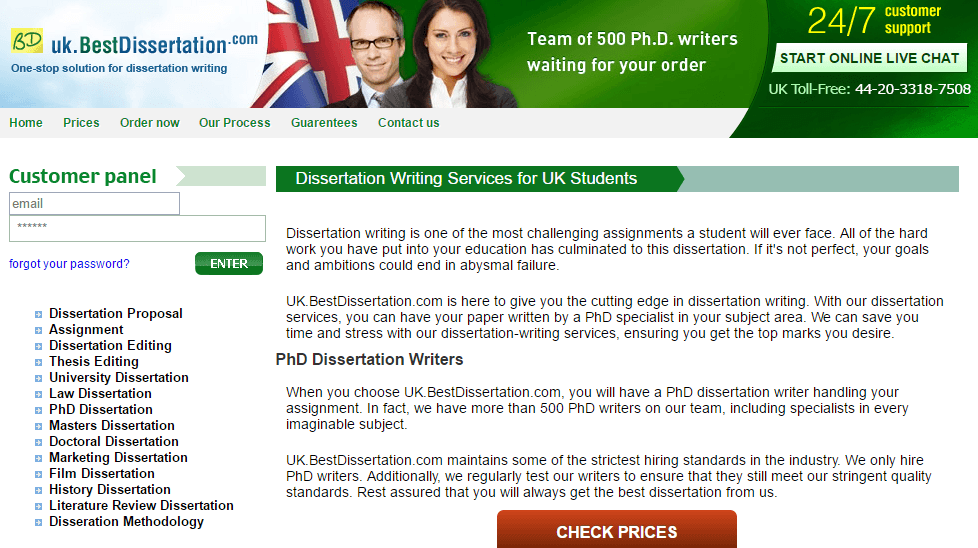 Best dissertation reviews