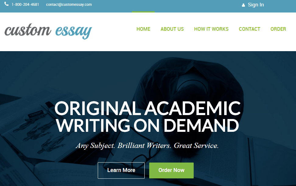 Top custom essay websites