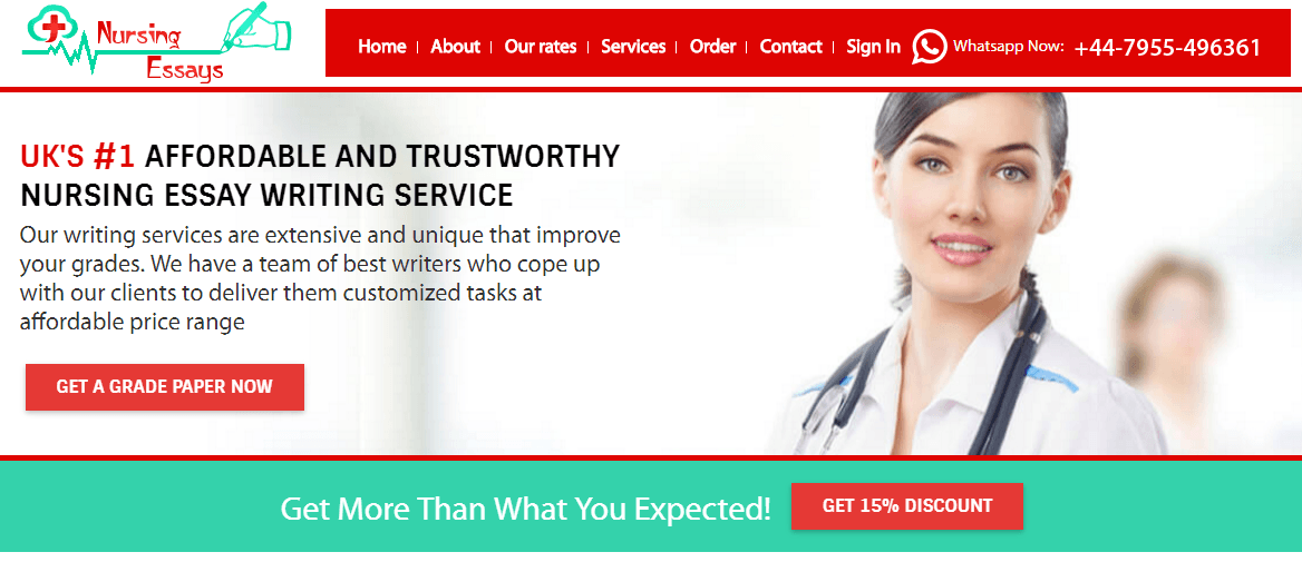 Best Nursing Essay Writing Service in UK for British Students
