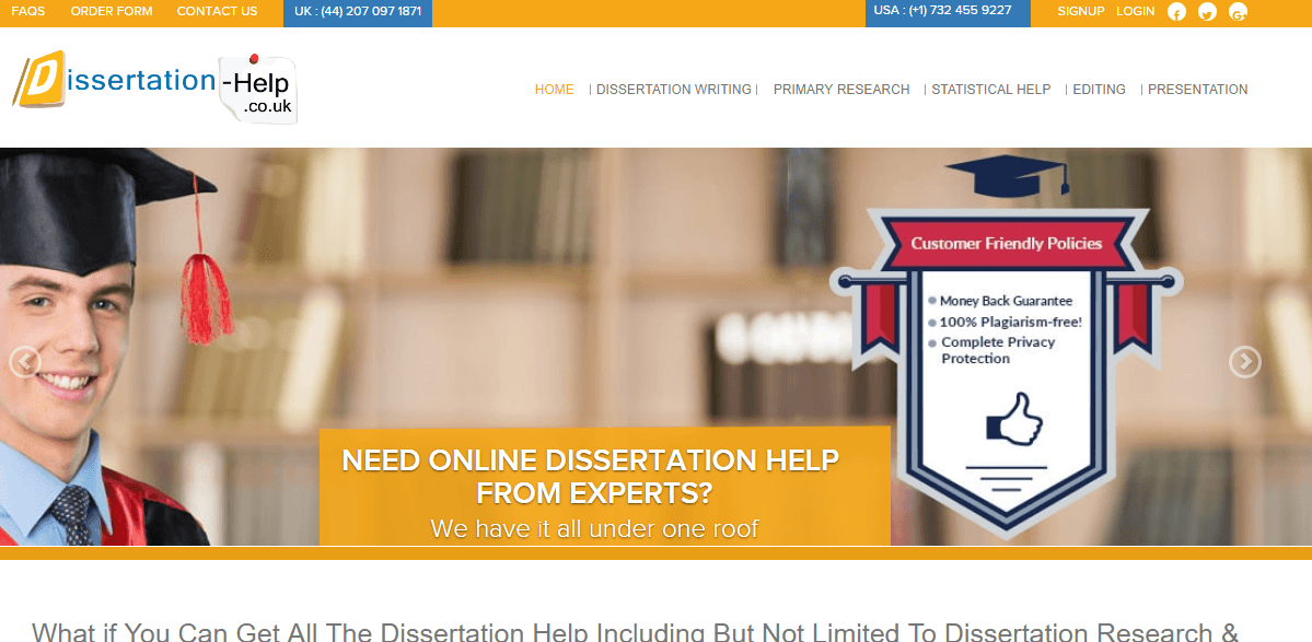 Welcome to Best Dissertation Writing Services