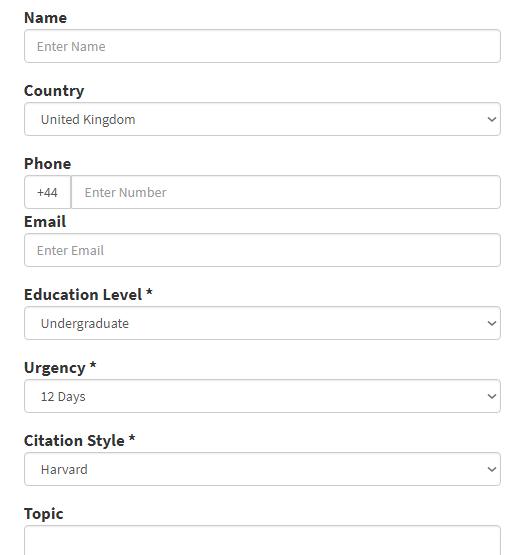 uktutoringhelp.com order form