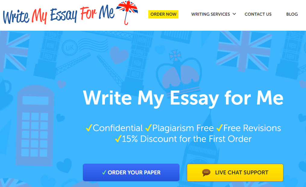 Essay for me review