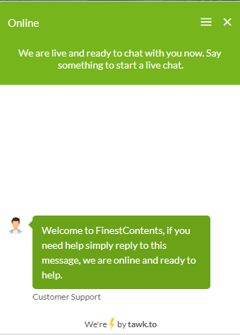 finestcontents.com order chat