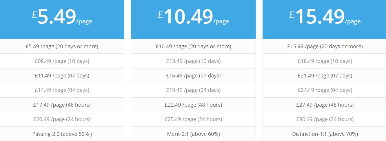 epicassignment.co.uk price