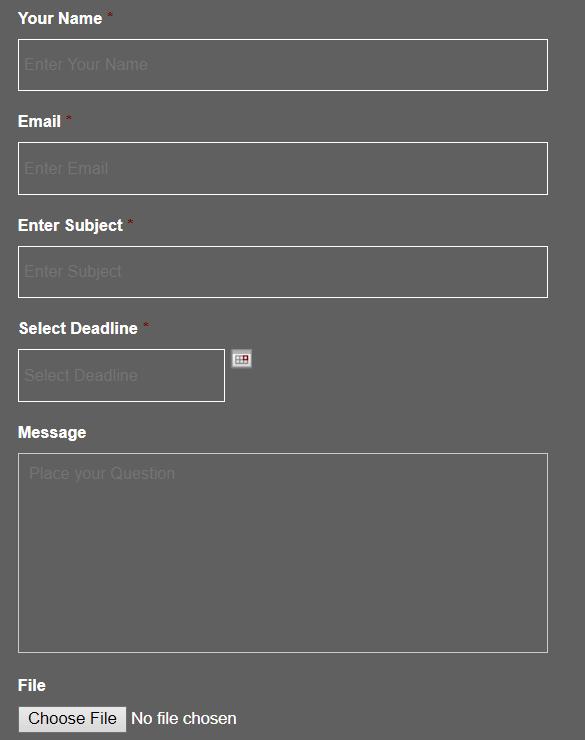 helpdissertations.co.uk order form