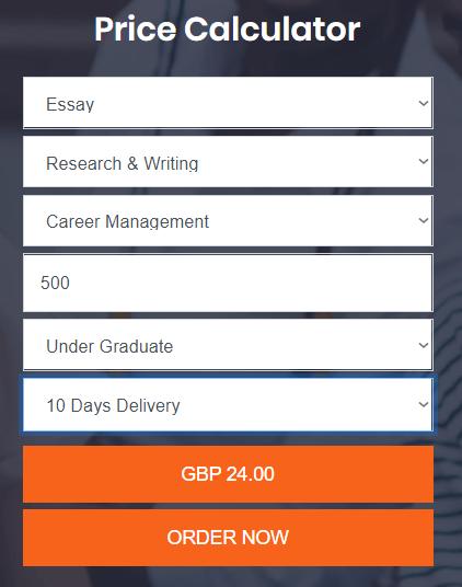 onlinecoursework.co.uk price