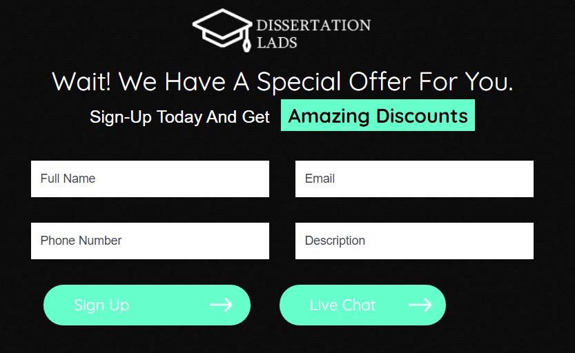 dissertationlads.co.uk order form