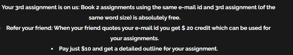 yourassignmentadvisor.com offers