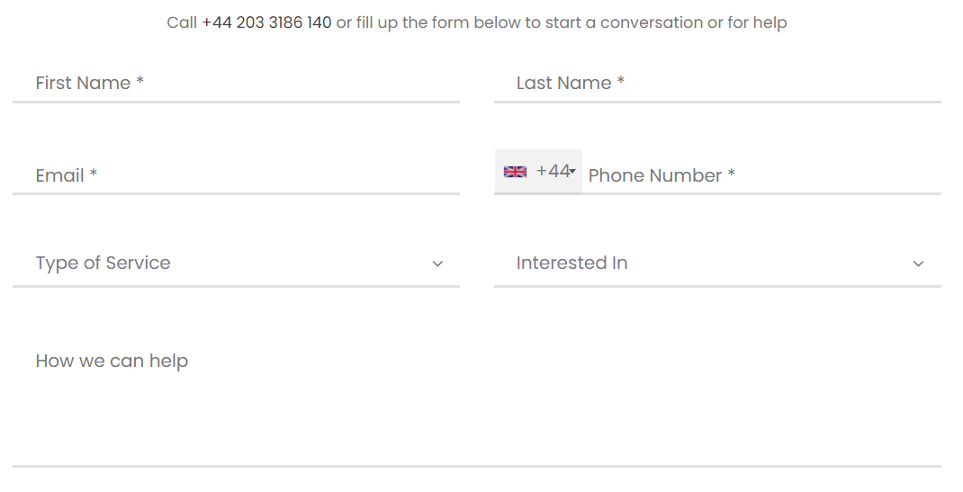 drcooperconsultancy.co.uk order form