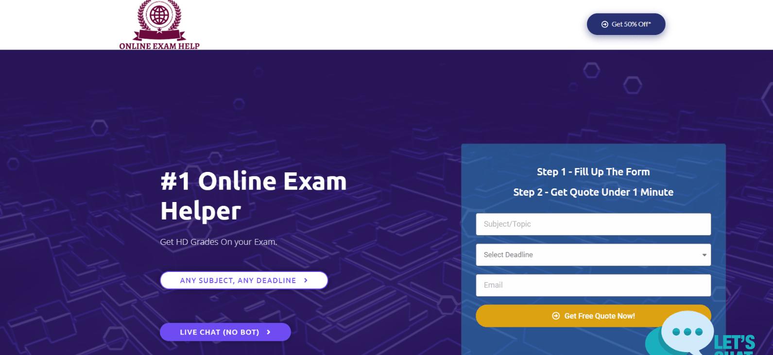 onlineexamshelp.com