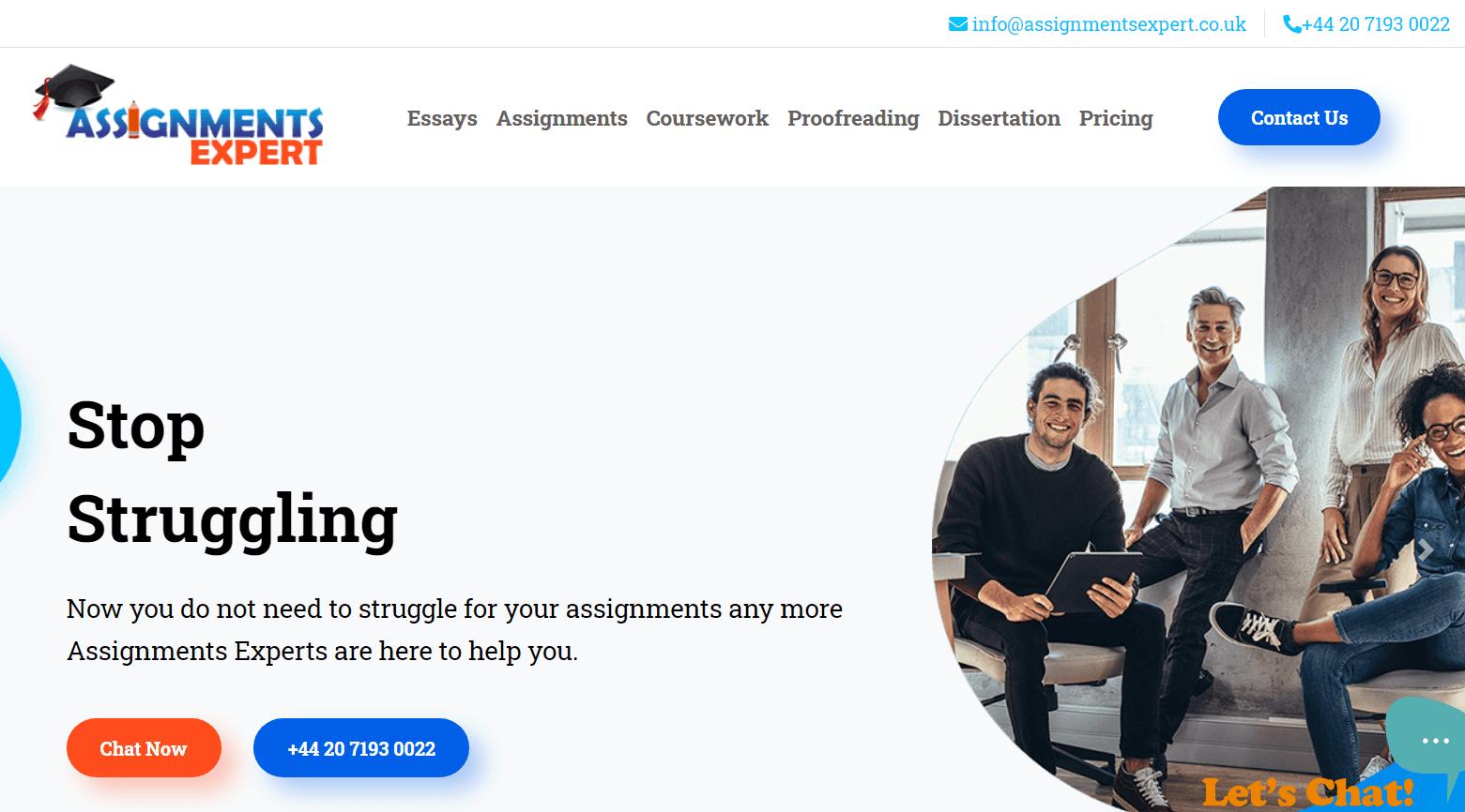 assignmentsexpert.co.uk