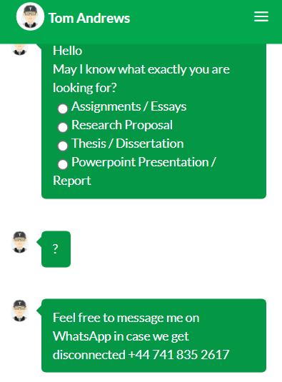 britishacademicshelp.co.uk customer support