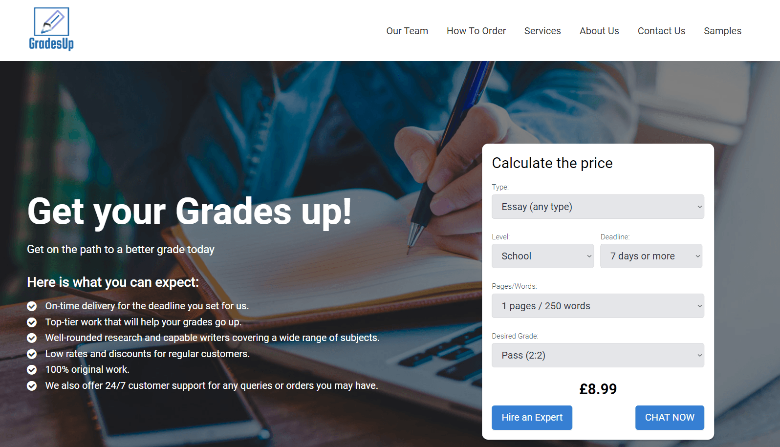 gradesup.co.uk